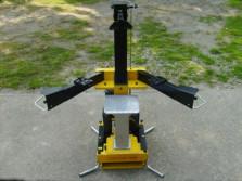 Nieuwe AL-KO houtklover (type LHS7000, kloofkracht 7 ton)