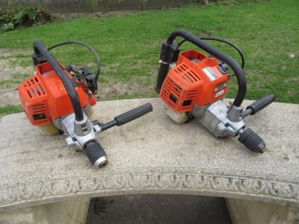 2 ECHO motorboormachines (type EDR-2400)