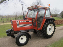 FIAT tractor (type 70-90, 70 pk, cabine, 7.185 draaiuren)