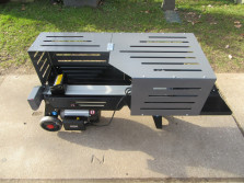 Nieuwe LUMAG HOS7N houtklover (2,3 kW, splijtkracht 7 ton)