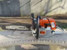 STIHL motorkettingzaag (MS440, 5,4 pk, zaagblad 45 cm.)