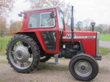 Massey Ferguson tractor (type 565, MULTIPOWER, cabine)