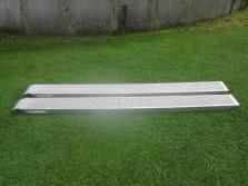 Set oprijplaten (ALU, lengte 3 meter, draagvermogen 2 ton)