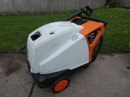 STIHL hogedrukreiniger (type RE 581 PLUS, 380V, 160 bar)