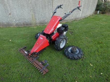 KOPPL tractor met freesbak en maaibalk (Honda motor)
